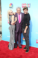 UNIVERSAL CITY, CA - NOVEMBER 16: Dove Cameron, Harvey Fierstein, Garrett Clayton attends the press junket for NBC's 'Hairspray Live!' at the NBC Universal Lot on November 16, 2016 in Universal City, California (Credit: Parisa Afsahi/MediaPunch).