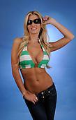 Stock Photo of Woman in Bikini Top