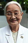 Dr. Ta Thi Chung , 82, created the Agent Orange children's ward of Tu Du Hospital in Ho Chi Minh City more than 30 years ago, and has worked there ever since. She and other doctors say that about 500 of the 60,000 children born each year at the maternity hospital, Vietnam's largest, are born with deformities some because of Agent Orange. But 90 percent of women chose to abort at the earliest sign of any abnormality, she and other doctors say. May 1, 2013.