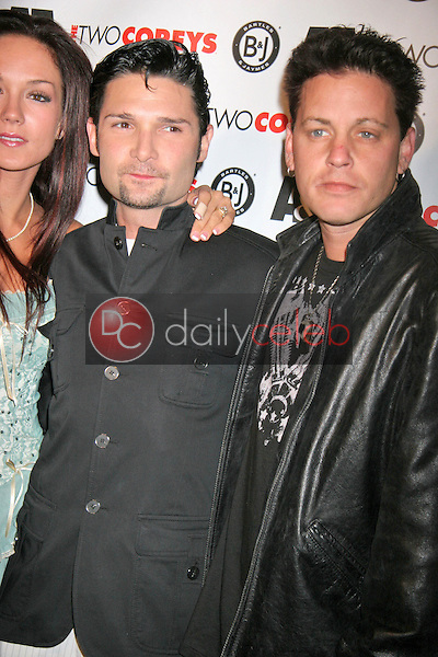 Corey Feldman and Corey Haim<br />
