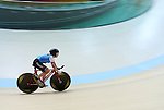 Rio de Janeiro-4/9/2016- Marie-Claude Molnar during training before her cycling event at the Rio 2016 Paralympic Games at the Barra Velodrome. Photo Scott Grant/Canadian Paralympic Committee