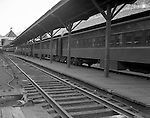 Pittsburgh PA - View of Railroad Passenger Cars at the Pennsylvania Railroad Station - 1959