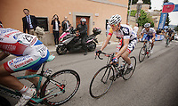 2013 Giro d'Italia.stage 7: Marina di San Salvo - Pescara .177 km..(later stage winner) Adam Hansen (AUS) in the decisive breakaway group