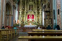 Church in Quito, Ecuador