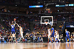MILWAUKEE, WI - MARCH 16:  Middle Tennessee Blue Raiders forward Reggie Upshaw (30) shoots over Minnesota Gophers guard Amir Coffey (5) during the first half of the 2017 NCAA Men's Basketball Tournament held at BMO Harris Bradley Center on March 16, 2017 in Milwaukee, Wisconsin. (Photo by Jamie Schwaberow/NCAA Photos via Getty Images)