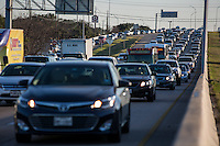 US Highway 183 Research is the main freeway for sprawl-related commuter demand and the gateway to north Austin suburban communities Cedar Park and Leander.