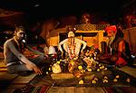 Sadhus, Varanasi, India