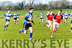Tralee's Dara O'Neill in action at the Tralee v Charleville at O'Dowd Park on Sunday