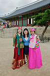 Korean Women, Gyeongbok Palace