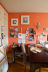 The Portland, Oregon home of Wendy Burden, author of  the memoir, Dead End Gene Pool.  Ms. Burden's sewing room.