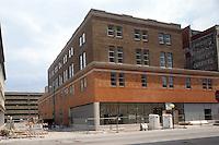 1996 JUNE 06..Redevelopment.Tidewater Community College..TCC PROGRESS..NEAR PV7.OLD WOOLWORTH BUILDING..NEG#.NRHA#..