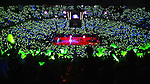 Arco Arena is awash in green glow sticks berfore game six of the second round  of the .Western Conference playoffs between the Sacramento Kings and Minnesota Timeberwolves at Arco Arena, Sunday May 16, 2004.