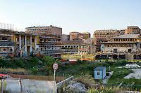Roma 28 Agosto 2014<br /> Quartiere Ostiense, l'area abbandonata degli ex Mercati Generali<br /> Rome 28 August 2014<br /> Ostiense district, the area abandoned the former wholesale market.