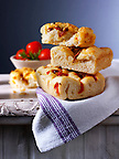Sun dried tomato Focaccia Italian bread