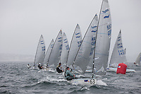 Day 2 of racing. The JP Morgan Asset Management Finn Gold Cup 2012. Falmouth.Credit: Lloyd Images