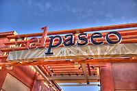 The Village, El Paseo, Drive, Palm Desert; CA, Boutiques; Restaurants, Coachella Valley; famous; retailers; fashion; haute couture; shopping; High dynamic range imaging (HDRI or HDR)