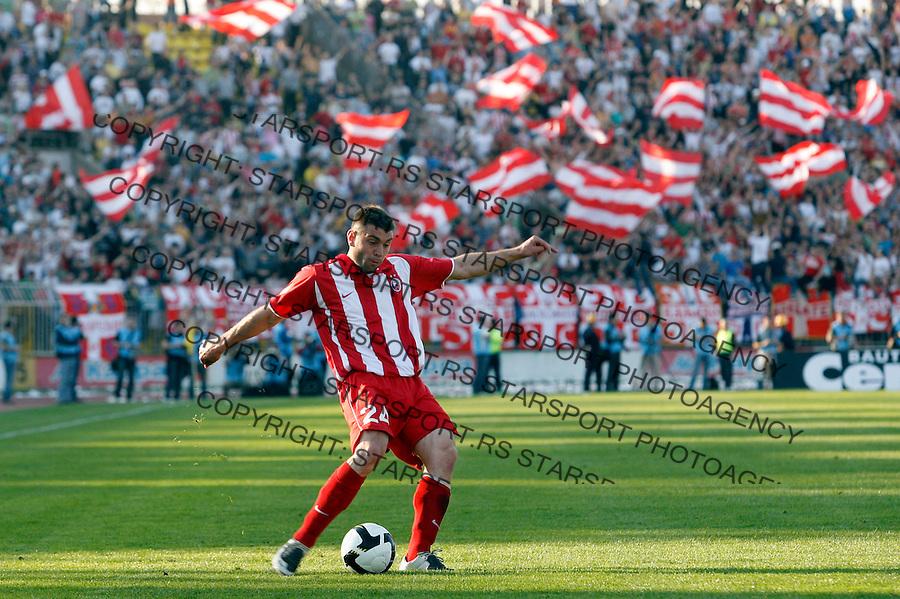 Fudbal, Jelen super liga, season 2008/09.Partizan Vs. Crvena Zvezda.Pavle Ninkov.Beograd, 04.08.2009..Photo: © Srdjan Stevanovic/Starsportphoto.com