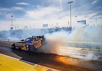 Jun 10, 2016; Englishtown, NJ, USA; NHRA funny car driver Matt Hagan during qualifying for the Summernationals at Old Bridge Township Raceway Park. Mandatory Credit: Mark J. Rebilas-USA TODAY Sports