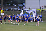 Water Valley cheerleaders vs. Calhoun City in Water Valley, Miss. on Friday, September 2 2011. Calhoun City won 16-14..