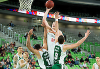 20140409: SLO, Basketball - Telemach League, KK Union Olimpija vs KK Krka