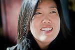 Michelle Rhee, head of StudentsFirst, her new public education advocacy group, in Sacramento, Calif., February 4, 2011.