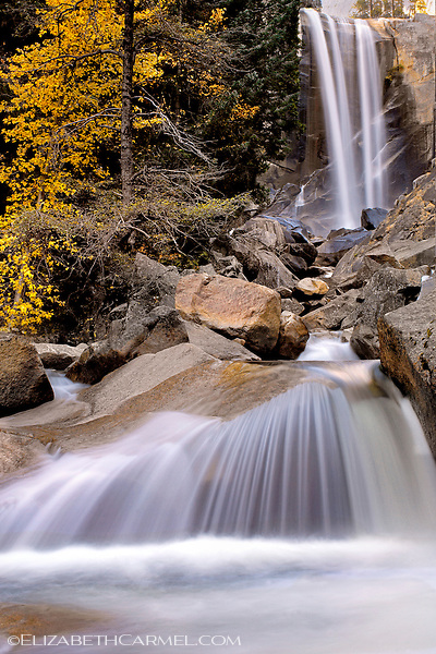 Vernal Falls in Autumn