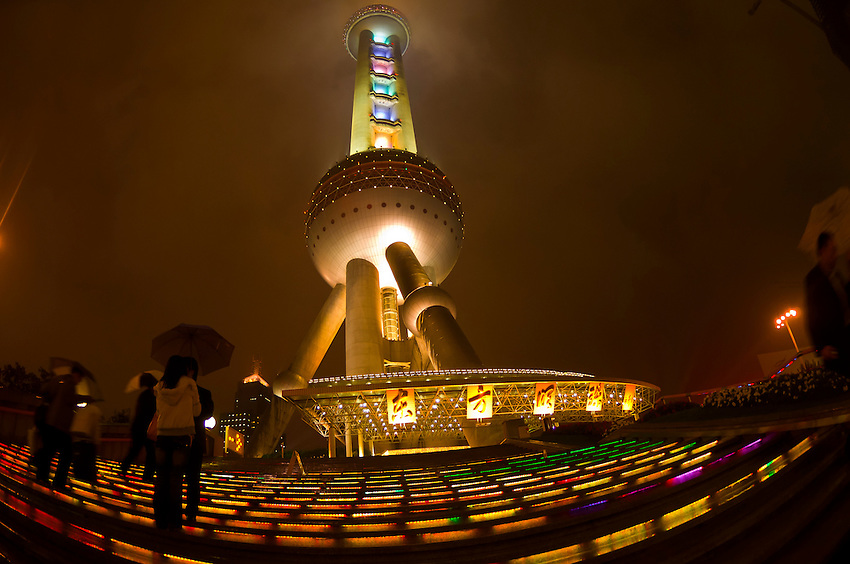 Oriental Pearl Tower, Shanghai, China