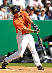 21 May 2007: Baltimore Orioles infielder Gera Alvarez in action against the Toronto Blue Jays at Doubleday Field during Baseball's Annual Hall of Fame Game in Cooperstown, NY. The Orioles defeated the Blue Jays 13-7 in front of a sellout crowd of 9,791 at the historical ballpark...Mandatory Credit: Ed Wolfstein Photo