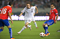 Carson, Ca-January 22, 2010: Mixx Diskerud of the USA men's national team during a 1-1 tie with Chile at the Home Depot Center in Carson, California.