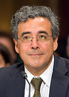 Noel J. Francisco testifies before the United States Senate Committee on the Judiciary on his nomination to be Solicitor General of the US on Capitol Hill in Washington, DC on Wednesday, May 10, 2017.<br /> Credit: Ron Sachs / CNP /MediaPunch