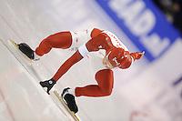 SCHAATSEN: HEERENVEEN: 12-12-2014, IJsstadion Thialf, ISU World Cup Speedskating, Gilmore Junio (CAN), ©foto Martin de Jong