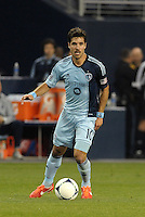 Benny Feilhaber (10) midfield Sporting KC in action..Sporting Kansas City defeated Montreal Impact 2-0 at Sporting Park, Kansas City, Kansas.