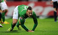 FUSSBALL   1. BUNDESLIGA   SAISON 2011/2012    16. SPIELTAG SV Werder Bremen - VfL Wolfsburg          10.12.2011 Torjubel nach dem 4:0: Torschuetze Marko Arnautovic (Werder Bremen)
