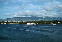 Honolulu: Arizona Memorial, Pearl Harbor. Photo '82.