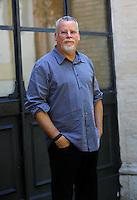 Lo scrittore statunitense Michael Connelly ritratto in occasione del Festival delle Letterature a Roma, 18 giugno 2012..U.S. writer Michael Connelly portrayed during the Literary Festival in Rome, 18 june 2012..UPDATE IMAGES PRESS/Isabella Bonotto