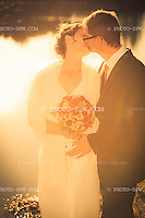 Wedding couple on their wedding day / Hochzeitspaar an seinem Hochzeitstag