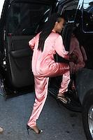 NEW YORK, NY - SEPTEMBER 12:  Karrueche Tran seen leaving New York Fashion Week at Moynihan Station on September 12, 2016 in New York City. Credit: DC/Media Punch