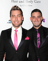 Los Angeles, CA - NOVEMBER 03: Lance Bass, Michael Turchin at The Vanderpump Dogs Foundation Gala in Taglyan Cultural Complex, California on NOVEMBER 03, 2016. Credit: Faye Sadou/MediaPunch