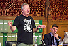 Orgreave campaigners hold Westminster rally before Home Secretary meeting<br /> 13th September 2016, Labour leader Jeremy Corbyn, Shadow Home Secretary Andy Burnham and other MPs join the Orgreave Truth and Justice Campaign <br /> Westminster, London, Great Britain <br /> <br /> Kevin Horn, who was a miner at Orgreave <br />  <br /> <br /> followed by an open meeting of campaigners and politicians ahead of a private meeting with Home Secretary Amber Rudd on the campaign&rsquo;s call for a public inquiry. <br /> <br /> Andy Burnham MP with <br /> Hillsborough campaigner Margaret Aspinall on his left <br /> <br /> <br /> Photograph by Elliott Franks <br /> Image licensed to Elliott Franks Photography Services