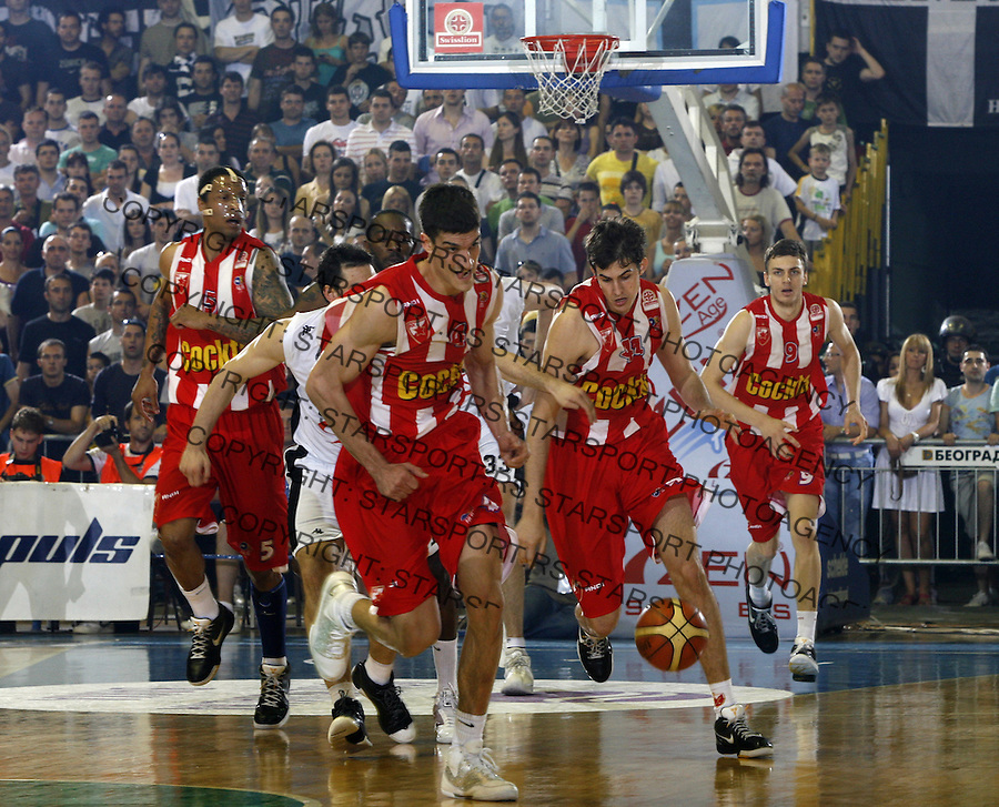 Marko Keselj Bjelica Kikanovic Sport Kosarka Basketball Play Off Plej Of Swisslion Liga Finale Crvena Zvezda Partizan Beograd Srbija 23.5.2009. (credit image © photo: Pedja Milosavljevic / STARSPORT)