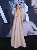 Dakota Johnson at the premiere of &quot;Fifty Shades Darker&quot; at the Theatre at the Ace Hotel, Los Angeles, USA 18th January  2017<br /> Picture: Paul Smith/Featureflash/SilverHub 0208 004 5359 sales@silverhubmedia.com