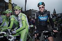 Mathew Hayman at the start..74th Gent-Wevelgem (2012).236km between Deinze & Wevelgem.winner 2012: Tom Boonen..