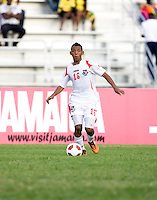 Alonzo Goot. Panama defeated Jamaica, 1-0, during the third place game of the CONCACAF Men's Under 17 Championship at Catherine Hall Stadium in Montego Bay, Jamaica.