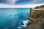 Coastal cliffs at Castlepoint, Wairarapa