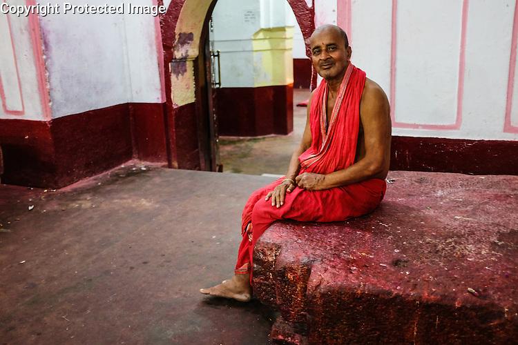 Kamakhya Temple, Guwahati, Assam, India, dedicated to the Hindu Kamakhya Mother God