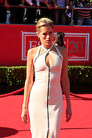 LOS ANGELES - JUL 11:  Cody Horn arrives at the 2012 ESPY Awards at Nokia Theater at LA Live on July 11, 2012 in Los Angeles, CA