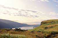 A view of the Columbia River Gorge National scenic Area from Rowena near The Dalles Oregon