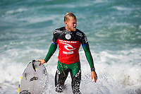 Bells Beach, Torquay Victoria, Australia. (Sunday April 20, 2014) Adam Melling (AUS) –  The 2014  Rip Curl Pro at Bells Beach continued today with the completion of men's Round 2 and Round 2 and Round 3 of the women's event. The surf was in the 4'-6' range for most of the day with light offshore winds and clear skies.  .Photo: joliphotos.com