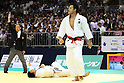 (L to R) Takamasa Anai (JPN), Takumi Asanuma (JPN), .May 13, 2012 - Judo : .All Japan Selected Judo Championships, Men's -100kg class Final .at Fukuoka Convention Center, Fukuoka, Japan. .(Photo by Daiju Kitamura/AFLO SPORT) [1045]