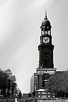 The St. Michaelis Church, a landmark of the hanseatic city of Hamburg.